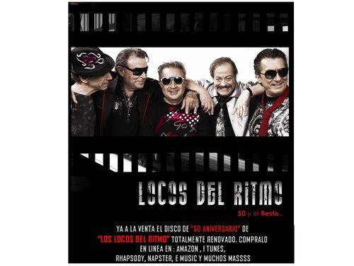 Nuevo CD de Los Locos del Ritmo.