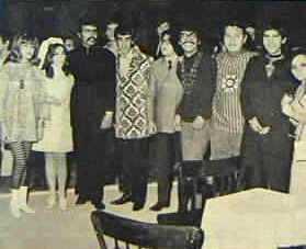 Invitados a la boda de Rafa Acosta (considerada la primera boda hippie, en Tepoztlán, Méx.)