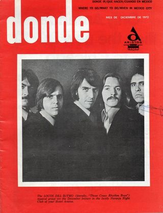 Los Locos: Promoción 1970 en Hotel Aristos, México, D.F.