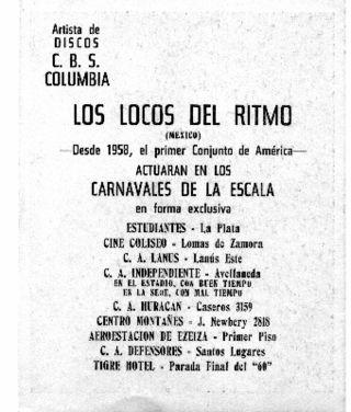 Actuacion en Argentina