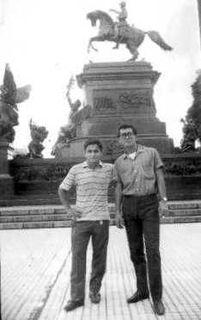 Atilio Marino y Mario Sanabria en Buenos Aires