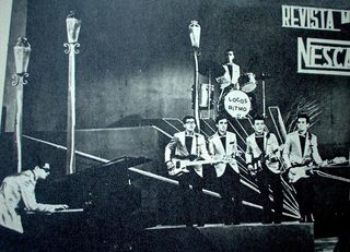 Locos del Ritmo programa Revista Musical Nescafe